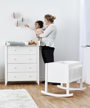 Se vårt utvalg av Hoppekids Babymøbler her