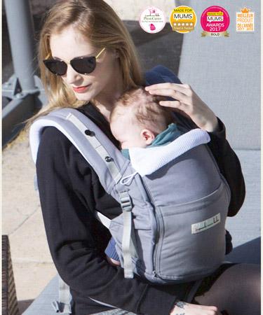 PhysioCarrier Baby Carrier hos Mimmis.no - best pris, test oss - vi garanterer deg at du blir fornøyd