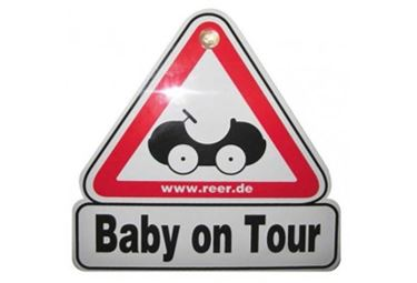 "Bilde av Reer Skilt ""Baby on Tour"""