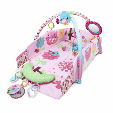 Bilde av Pretty in Pink Babygym - Sweet Songbirds™ Baby's Play Place™