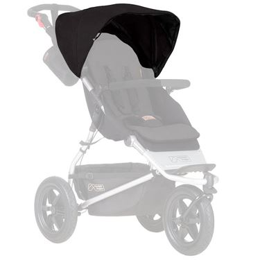 Bilde av Mountain Buggy Reservedel, Sort Kalesje Urban Jungle V3