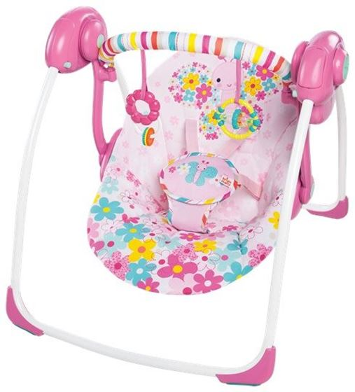 Bright Starts Butterfly Cutouts Portable Swing