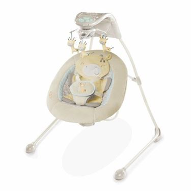 Bilde av Bright Starts InLighten Giraffe Cradling Swing