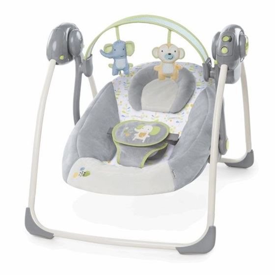 Bright Starts Buzzy Bloom Portable Swing