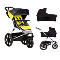 Bilde av Mountain Buggy Terrain v3 + Bag, Solus/Sort
