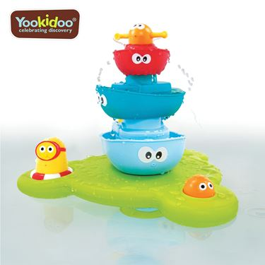 Bilde av Yookidoo Stack n Spray Tub Fountain