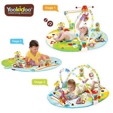 Bilde av Yookidoo Babygym, Gymotion Activity Playland