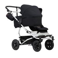Bilde av Mountain Buggy Duet Carrycot Plus, Sort