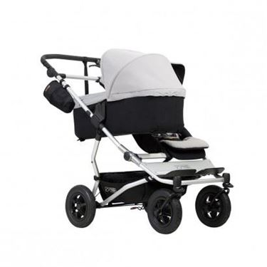 Bilde av Mountain Buggy Duet Carrycot Plus, Sølvgrå