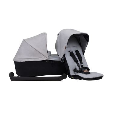 Bilde av Mountain Buggy Duet Family Pack, Sølvgrå