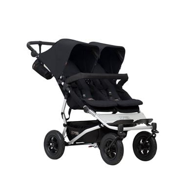 Bilde av Mountain Buggy Duet Dobbelvogn, Sort