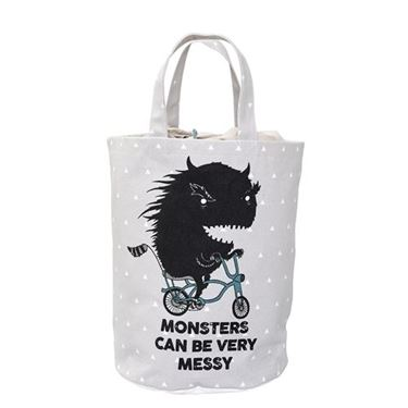 Bilde av Bloomingville Oppbevaringspose, Monsters can be Messy