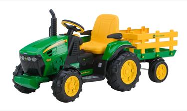 Bilde av John Deere Elektrisk Traktor - Ground Force 12V