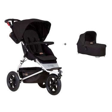 Bilde av Mountain Buggy Urban Jungle Duovogn med Dypbag