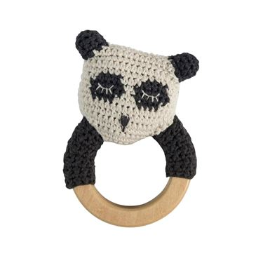 Bilde av Sebra Ring Rangle, Panda