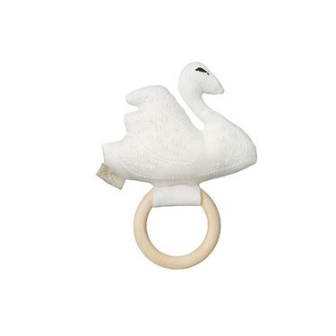 Bilde av CAM CAM Rattle, Swan Off White