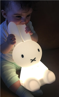 Bilde av MrMaria Miffy Lampe First Light