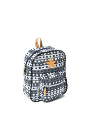 Bilde av Smallstuff Ryggsekk, Blue Multi Leather Star