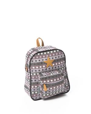 Bilde av Smallstuff Ryggsekk, Rose Multi Leather Star