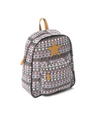 Bilde av Smallstuff Ryggsekk Stor, Rose Multi Leather Star