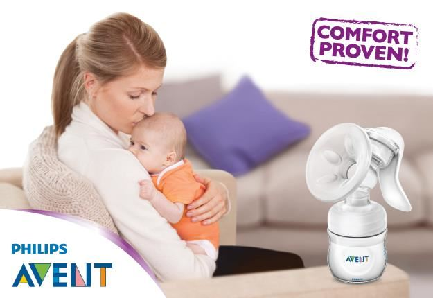 Unike Mimmis.no | Philips Avent Brystpumpe, Manuell Natural MN-43
