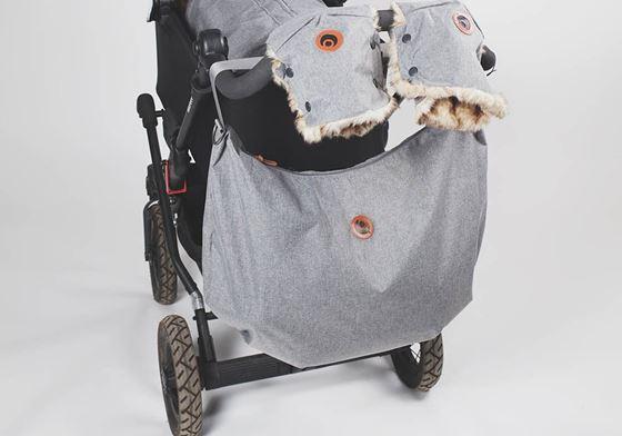Bilde av Easygrow Shopping bag Grey Melange