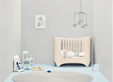 Bilde av Leander Classic Baby og Juniorseng, Whitewash