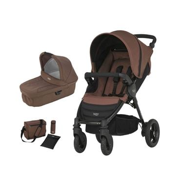 Bilde av Britax B-Motion 4 Duovogn + Stelleveske, Wood Brown