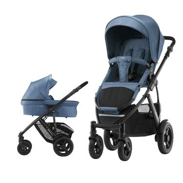 Bilde av Britax Smile 2 Duovogn, Blue Denim