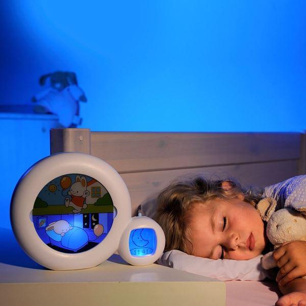 Bilde av KidSleep Moon: Klokke, Søvntrener, Vekkerklokke og Uro