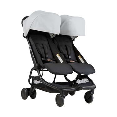 Bilde av Mountain Buggy Nano Duo, Sølvgrå
