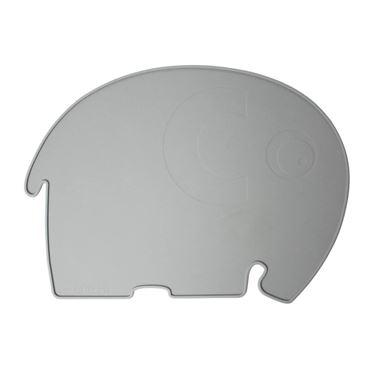 Bilde av Sebra Spisematte, Elefant, Grå