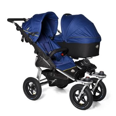 Bilde av TFK Twin Adventure Søskenduo inkl liggedel, Twilight Blue