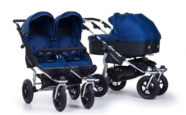 Bilde av TFK Twin Adventure Tvillingduo inkl to liggedeler, Twilight Blue