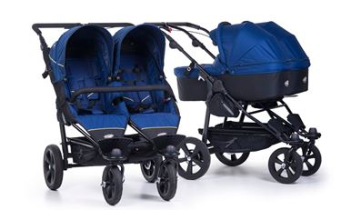 Bilde av TFK Twin Trail Tvillingduo inkl to liggedeler, Twilight Blue