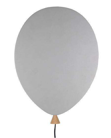 Bilde av Globen Vegglampe Ballong, Grå