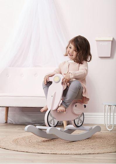 Bilde av Kids Concept Gyngescooter Rosa