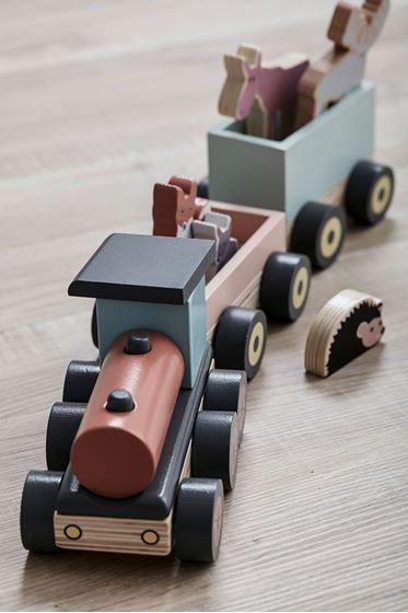 Bilde av Kids Concept Edvin Tog i tre