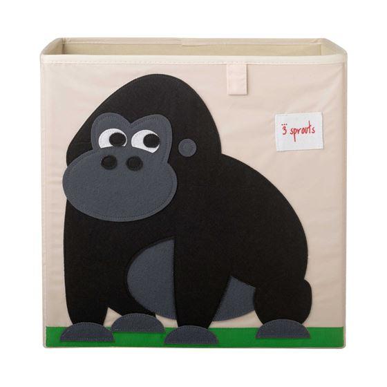 Bilde av 3 Sprouts Oppbevaringskasse, Gorilla
