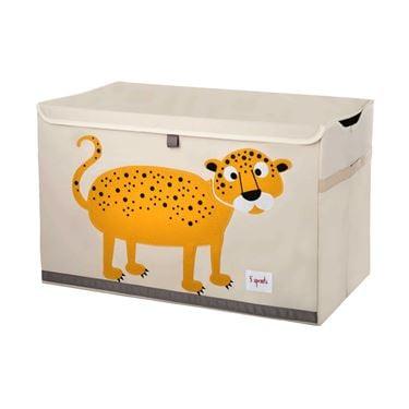 Bilde av 3 Sprouts Lekekiste, Leopard