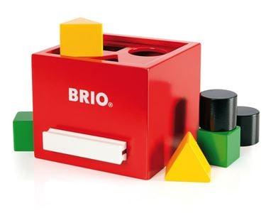 Bilde av BRIO Putteboks Rød