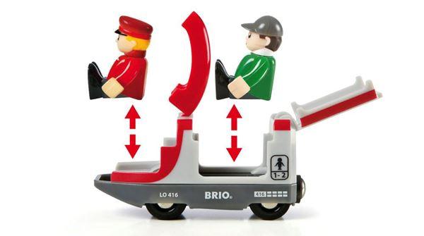 Bilde av BRIO Togbane Travel 42 deler