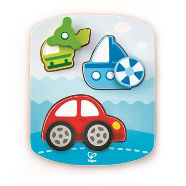 Bilde av Hape Dynamic Vehicle Puzzle
