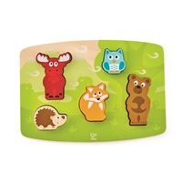 Bilde av Hape Forest Animal Tactile Puzzle