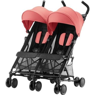 Bilde av Britax Holiday Double, Coral Peach
