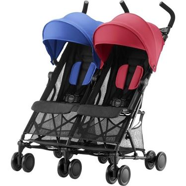 Bilde av Britax Holiday Double, Red/Blue Mix