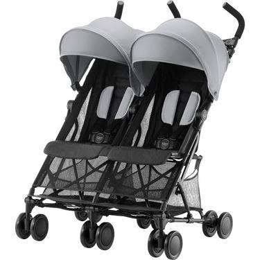 Bilde av Britax Holiday Double, Steel Grey