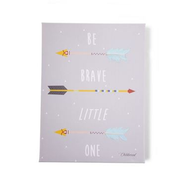 Bilde av Childhome Oljemaleri 30x40cm, Be Brave Arrows