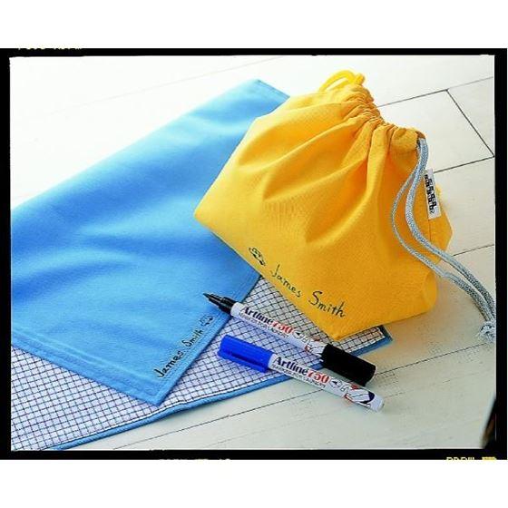 Bilde av Tekstilpenn Artline 750, Sort