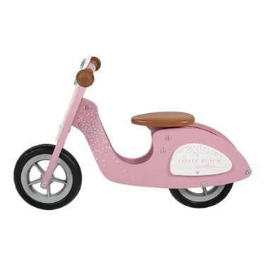 Bilde av Little Dutch Tre Scooter, Rosa